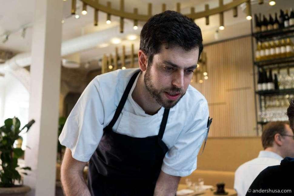 Head chef Max Surdu