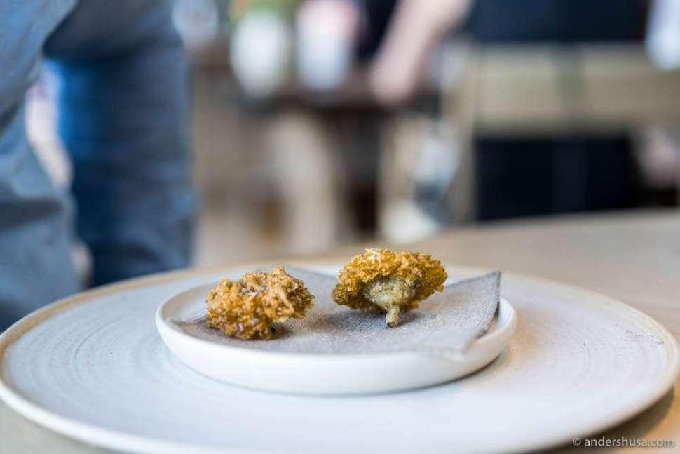 Marigold flower tempura ...