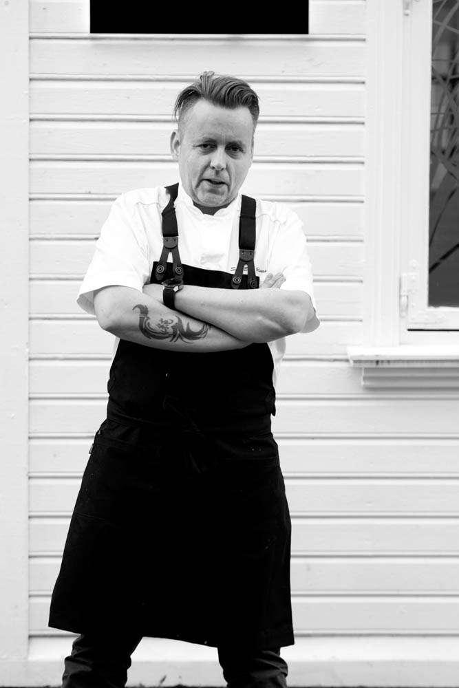 Head chef Sven Erik Renaa