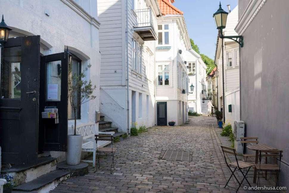 Nedre Fjellsmauet (the lower mountain alleyway)