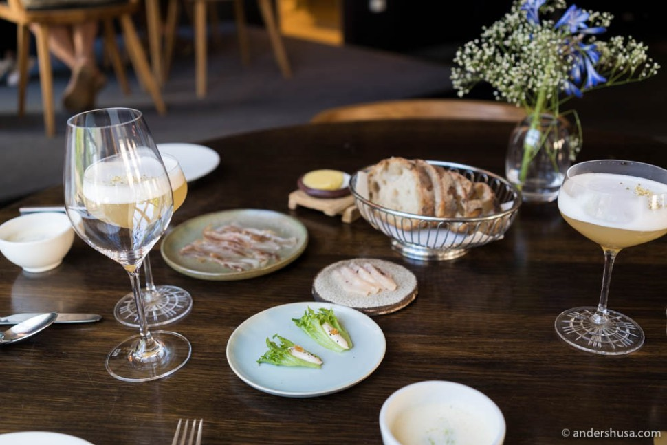 Nordic snacks served tapas style