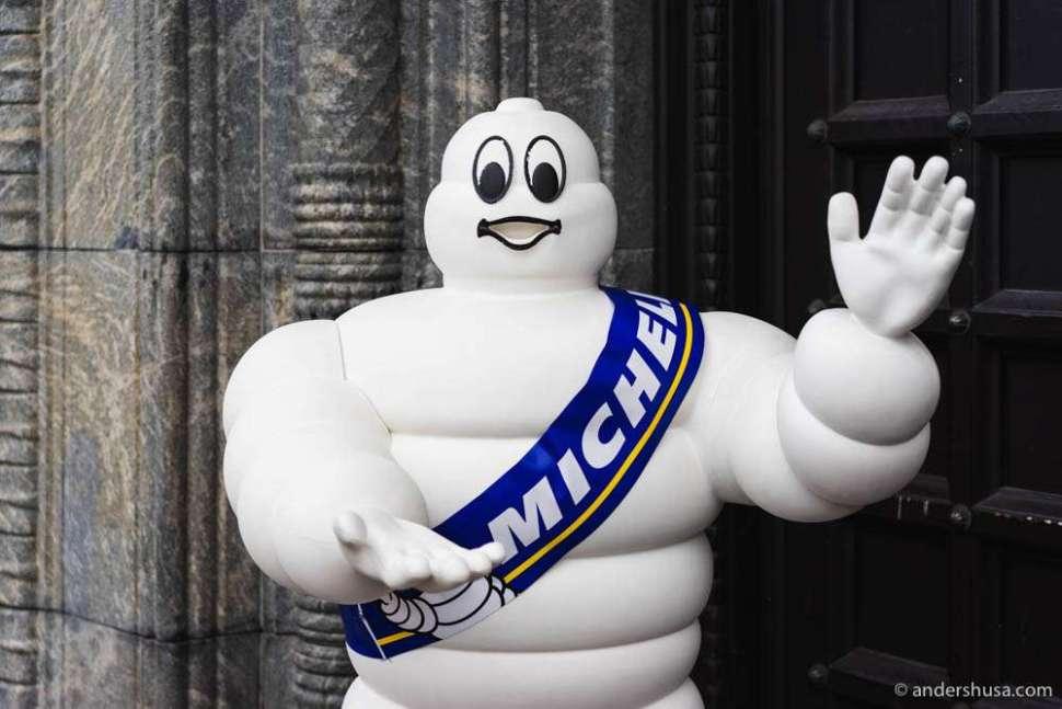 Mr. Michelin aka Bibendum