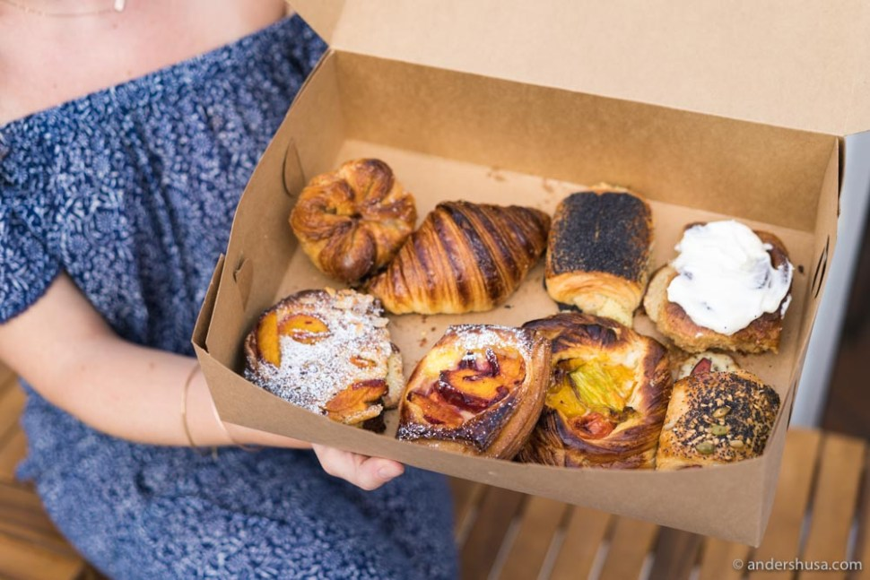 Of course, we got ALL the pastries!