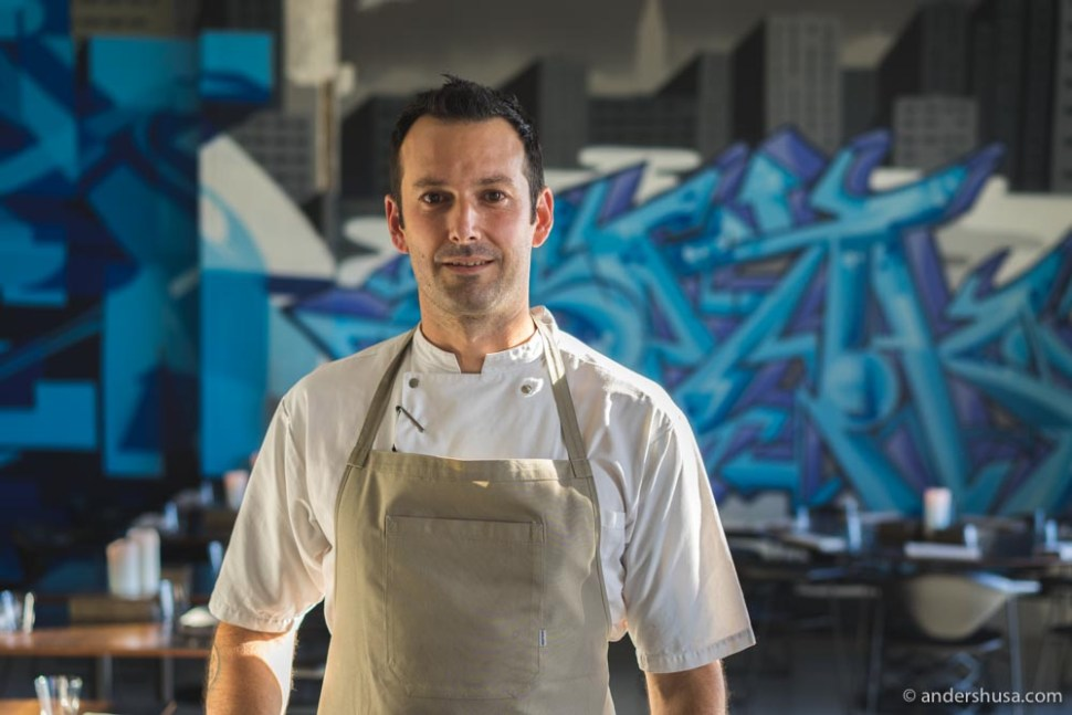 Congrats to Matt Orlando as the first-ever winner of 360° Restaurant