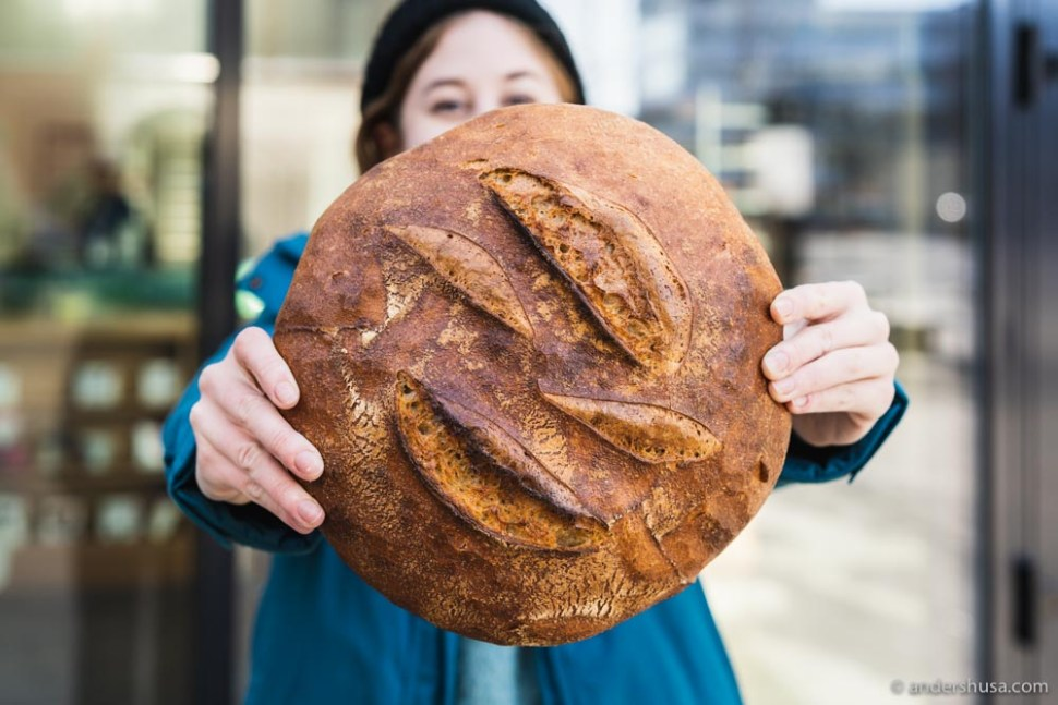 At no. 25 is the sourdough bread from Ille Brød in Oslo, Norway.