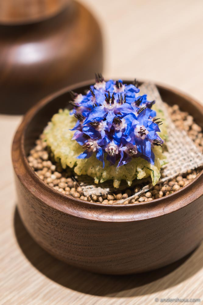 At no. 2 is the shiso tartare from Somni in Los Angeles, USA.