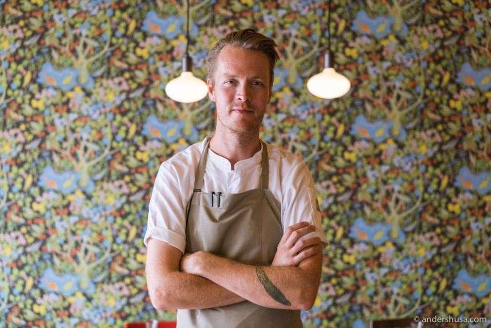 Chef Magnus Pettersson at Selma.