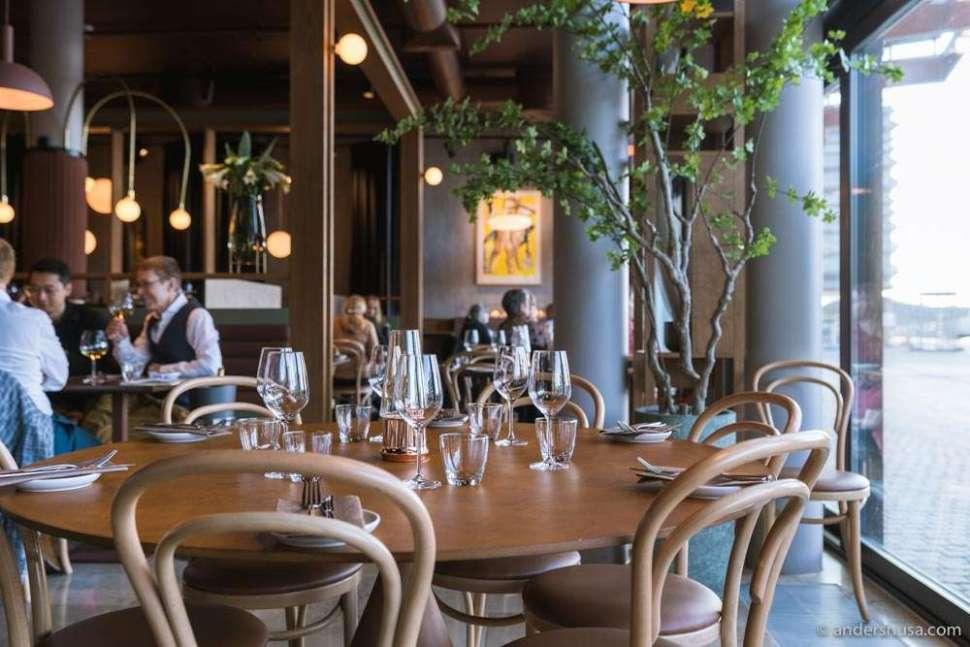 Brasserie Rivoli is a French restaurant in Munch Brygge.