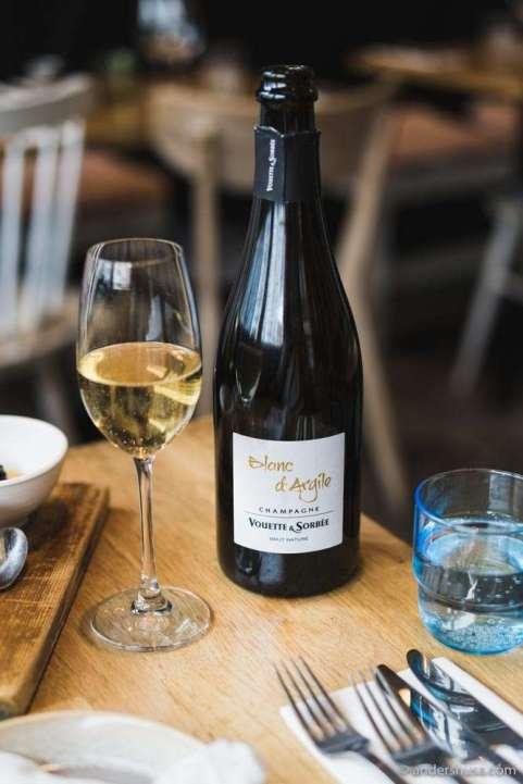 Vouette et Sorbée – Blanc d'Argile Brut Nature Champagne.