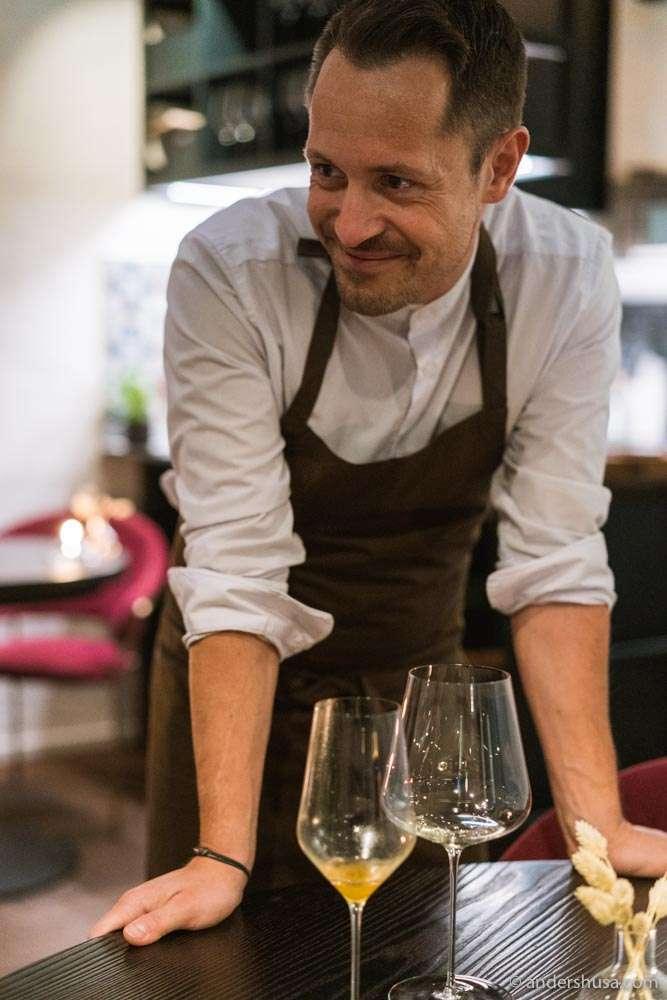 Chef Sebastian Myhre opened Stallen in October 2019.