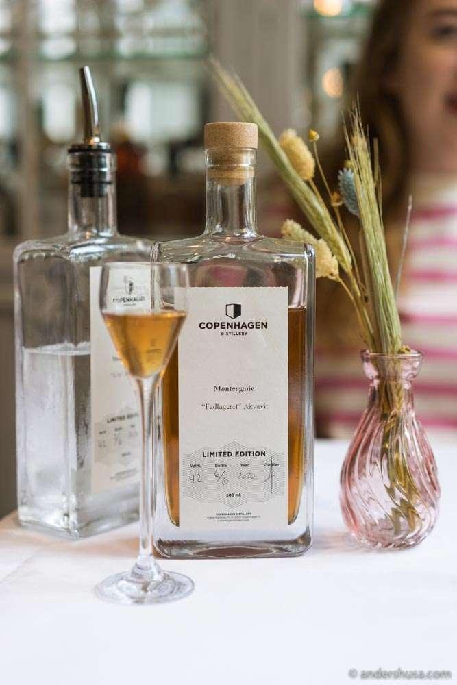 An aged aquavit from Copenhagen Distillery.