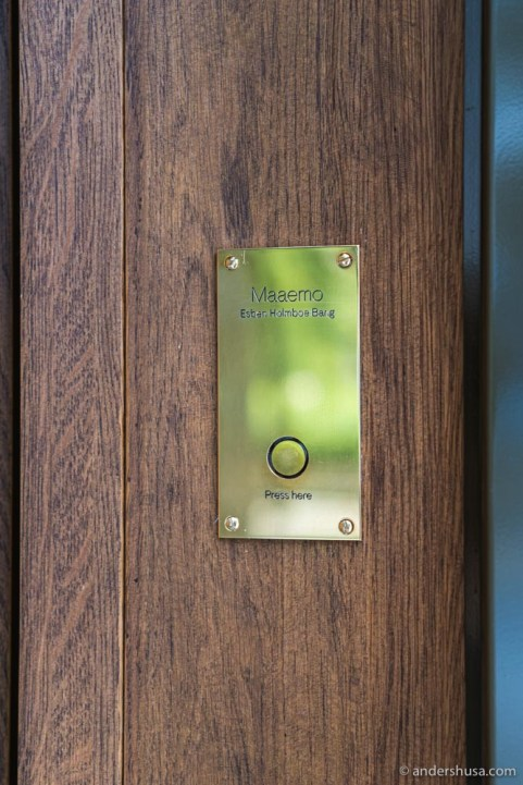 Ring the doorbell to start your experience.