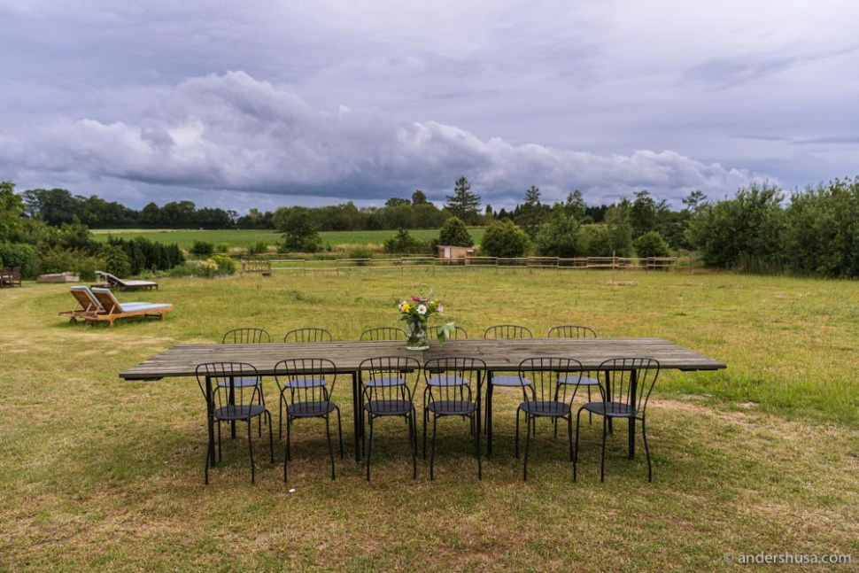 The Norrmans is a boutique hotel in the Danish countryside.