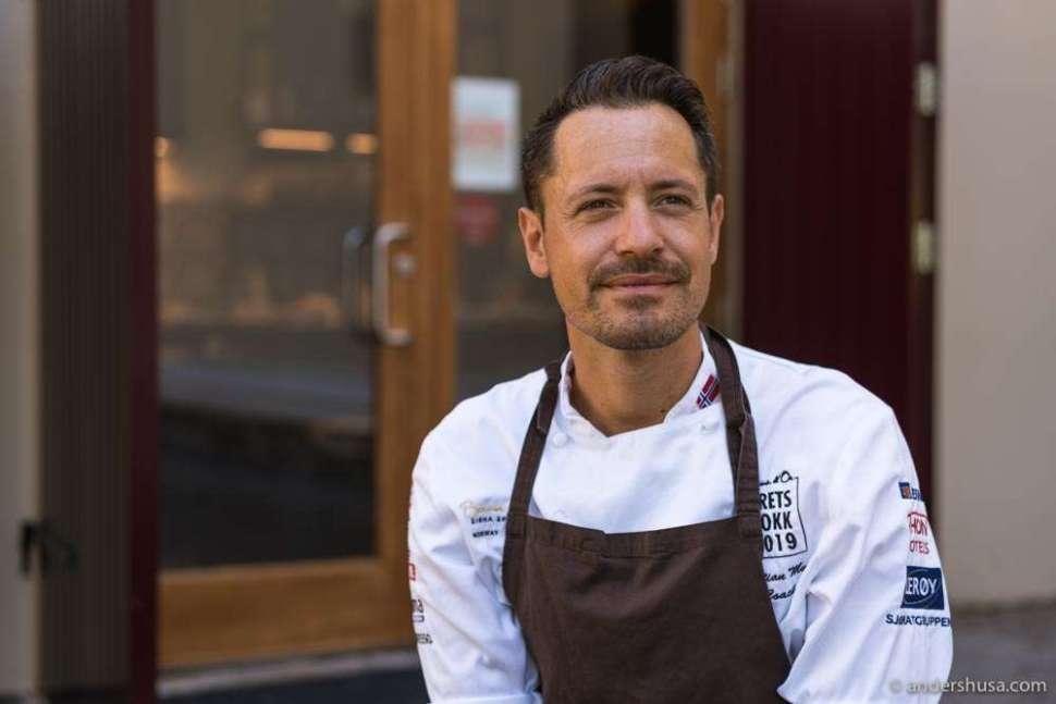 Chef Sebastian Myhre.