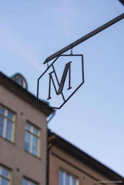 Restaurant Mutantur in Malmö, Sweden.