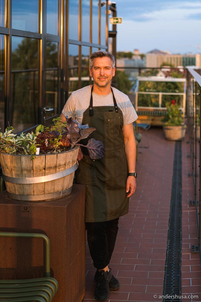 Chef Peeter Pihel was formerly the sous chef at Faviken.