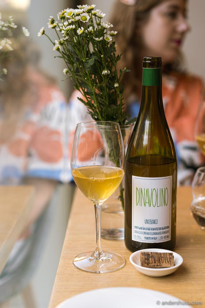 Rado has a few natural wines on their list.