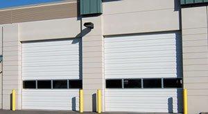 commercial garage door installation in Cache Valley, UT