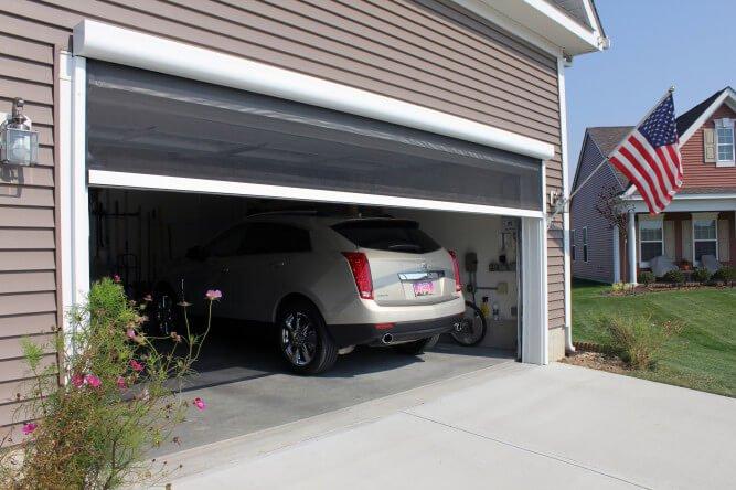 Garage door screen kit anderson garage doors for Anderson retractable screen door