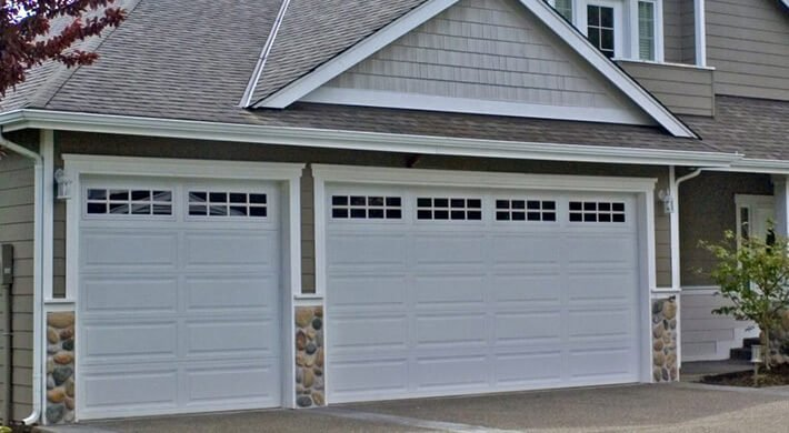 500 Series garage door installation in Logan, UT