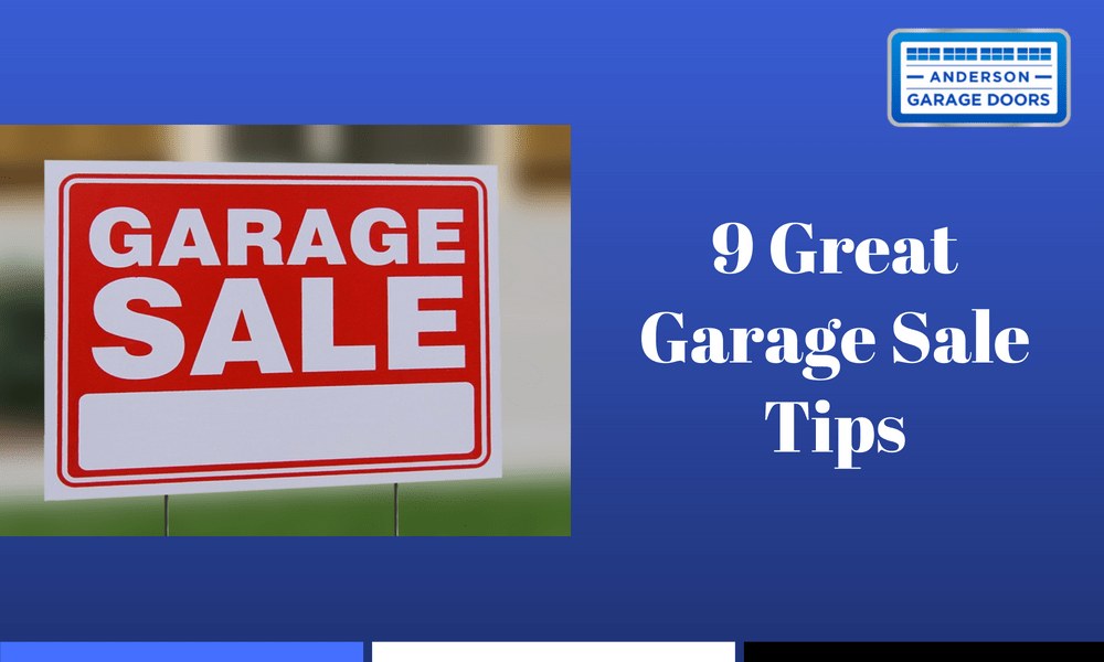 9 Great Garage Sale Tips