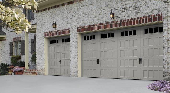 Oak Summit Residential garage door installation in Cache Valley