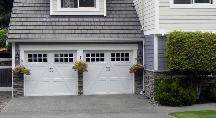 Therma Classic residential garage door in Cache Valley, Utah