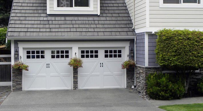 Therma Classic residential garage door installation in Cache Valley, UT