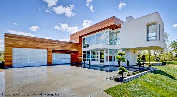 modern vista garage doors