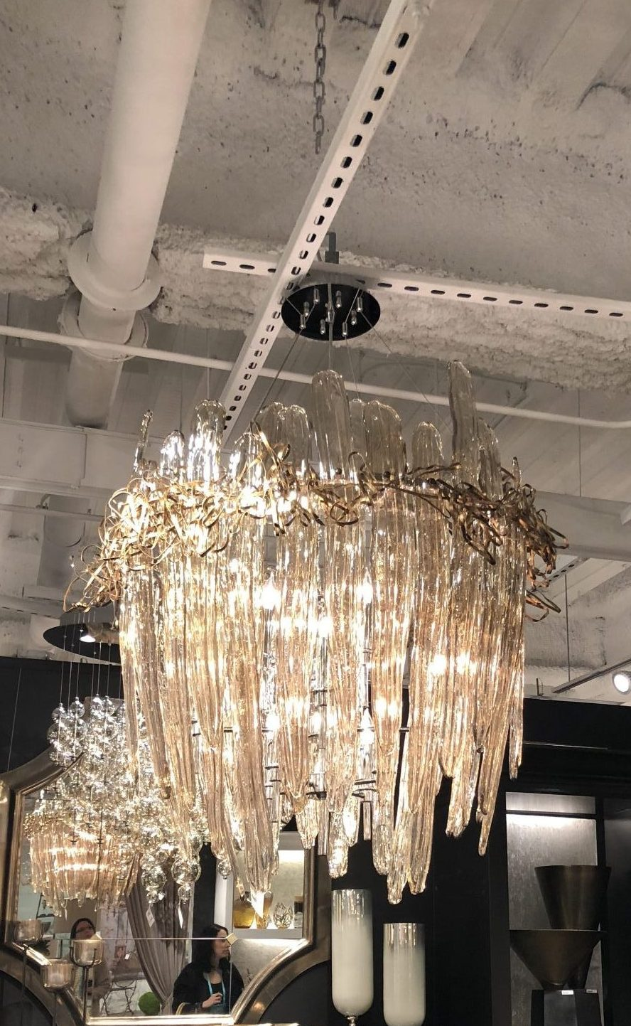 Dallas international lighting market 2018 anderson design not only were we dazzled by all the lighting but we were able to see a bunch of our favorite furniture and accessory lines too arubaitofo Gallery