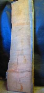 """#57. Monterey Cypress Curly Grain (24""""W x 96""""L x 3.75""""T) $865"""