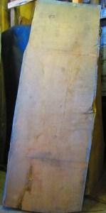 "#63. Monterey Cypress (36""W (small end), 41""W (big end) x 108""L x 3.75""T) $972"