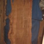 """#404. Redwood Lace Burl (95""""L x 42""""W x 2.5""""T) $3,749"""