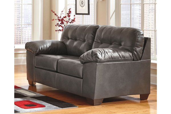 Peachy Alliston Sofa Loveseat Gray Andersons Furniture Caraccident5 Cool Chair Designs And Ideas Caraccident5Info