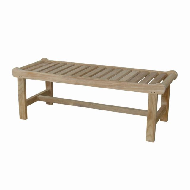 Cambridge 2-Seater Backless Bench