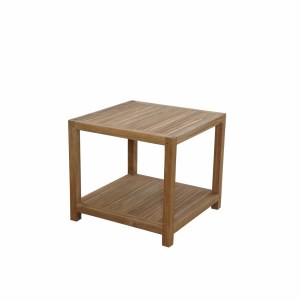 Glenmore Side Table with Shelf