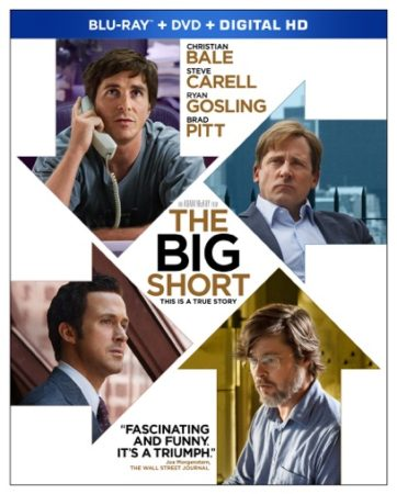 THE BIG SHORT debuts on Blu-ray Combo Pack March 15th 3