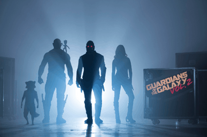 """MARVEL STUDIOS BEGINS PRODUCTION ON  """"GUARDIANS OF THE GALAXY VOL. 2"""" 1"""