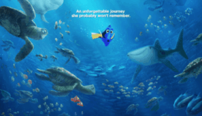FINDING DORY LANDS A NEW POSTER 3