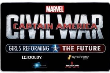 DISNEY AND MARVEL ANNOUNCE THE GRAND PRIZE WINNER OF CAPTAIN AMERICA: CIVIL WAR - GIRLS REFORMING THE FUTURE CHALLENGE 3