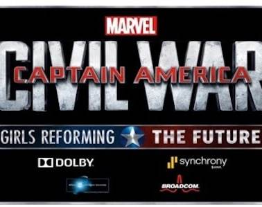DISNEY AND MARVEL ANNOUNCE THE GRAND PRIZE WINNER OF CAPTAIN AMERICA: CIVIL WAR - GIRLS REFORMING THE FUTURE CHALLENGE 11