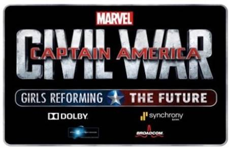 DISNEY AND MARVEL ANNOUNCE THE GRAND PRIZE WINNER OF CAPTAIN AMERICA: CIVIL WAR - GIRLS REFORMING THE FUTURE CHALLENGE 9