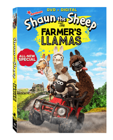 Shaun the Sheep is back in an all-new adventure The Farmer's Llama on DVD & Digital HD on June 14th 1