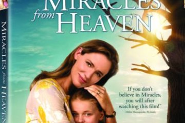 Miracles from Heaven Debuts on Digital June 21 and on Blu-ray and DVD July 12 15