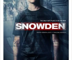 SNOWDEN gets an official trailer and poster! Check out the voice on JGL. 20