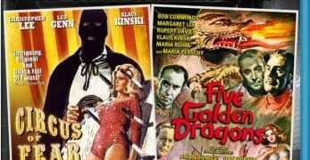 CIRCUS OF FEAR/FIVE GOLDEN DRAGONS DOUBLE FEATURE 1