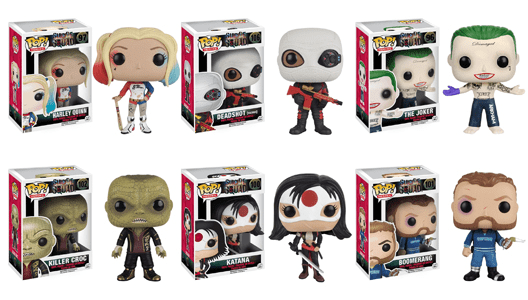 Suicide Squad Takes Over Official DC Shop! 2