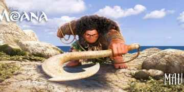 MOANA says You're Welcome with The Rock. 17