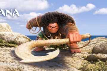 MOANA says You're Welcome with The Rock. 28