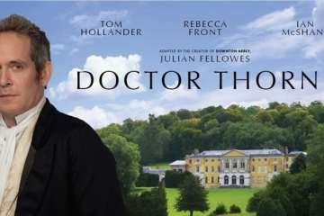 """From the Creator of """"Downton Abbey"""",  """"Doctor Thorne"""" / Available On Digital HD October 17th and DVD October 18th 19"""